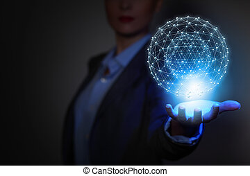 technologies, connecting, világ