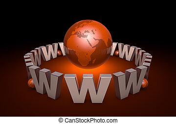 technologies., tela, rendering., información, 3d, addiction., ilustración, internet, website., internacional, globalization., nuevo, promoción, era., system., comunicación, creación