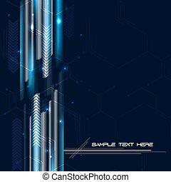 technologique, fond, résumé