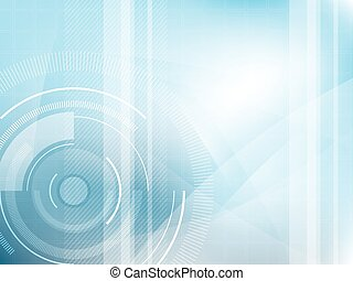Technology background blue futuristic abstract.