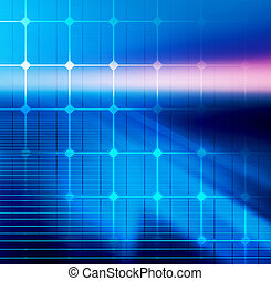 Technology background for web