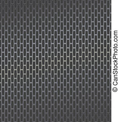 Technology background with dark metal texture.