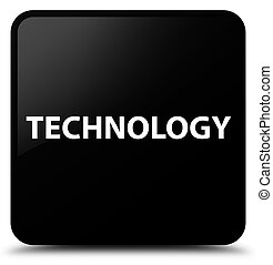 Technology black square button