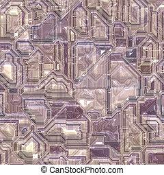 Technology circuitry backgrund