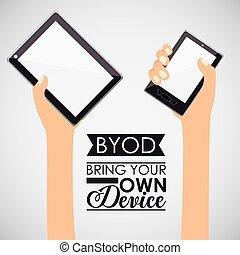 Technology design, vector illustration. - Technology design ...