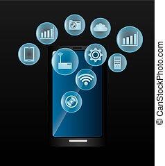 Technology digital design.