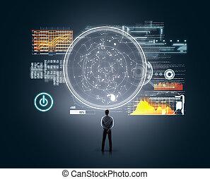 Technology futuristic