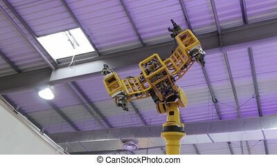 Technology Industrial Robotic Arm - Technology industrial...