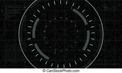 Technology interface gray target