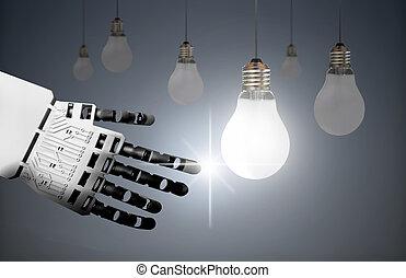 Technology leader concept