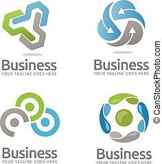 Technology logo - Simple and elegant technology logo concept...