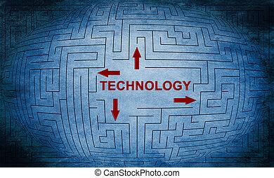Technology maze concept