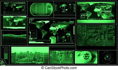 Technology Monitor or display