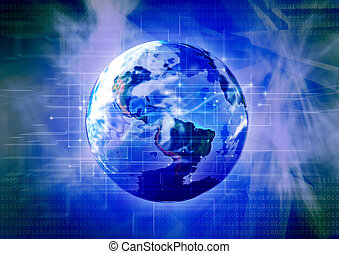 Technology planet 3 - Photoshop design work