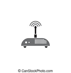 Technology related icon on background for graphic and web design. Simple illustration. Internet concept symbol for website button or mobile app