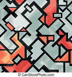 technology seamless pattern