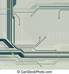 technology style background - technology style abstract...