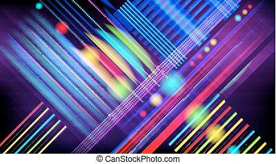 technology-stylebackground, abstratos, effect., luz