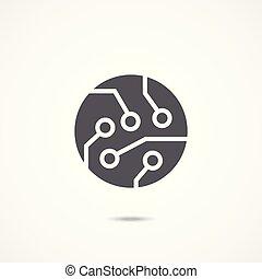 Technology vector icon
