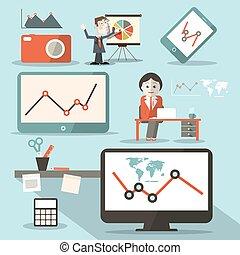 Technology Vector Social Media Objects