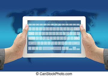 Technology Virtual Keyboard Interface