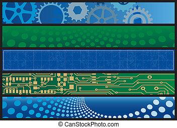 Technology Web Banners