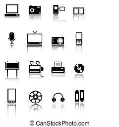 technology web icons