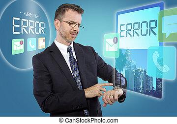 Technophobe with Smart Watch