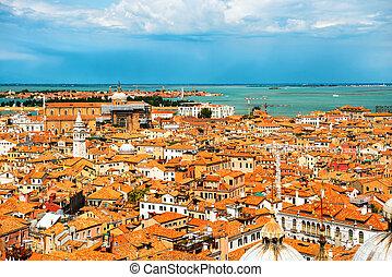 techos, venecia, sobre