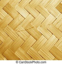 tecido, bambu