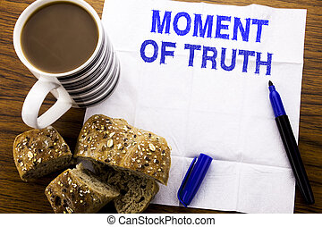 tecido, café, conceito, negócio, pressão, madeira, texto, decisão, difícil, saudável, escrito, momento, truth., caneta, papel, fundo, restaurante, pão, mostrando, manuscrito