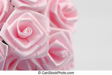 tecido, flor