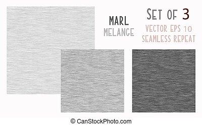 tecido, textura, marl, faux, cinzento, algodão, experiência., heather, vetorial, 10, eps