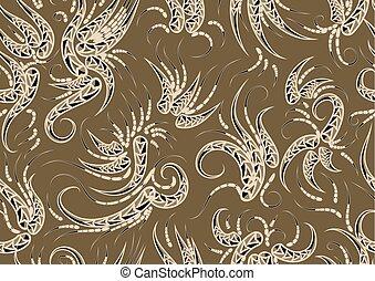 tecido, textura, seamless
