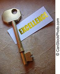 tecla, para, excelência