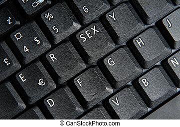tecla, sexo