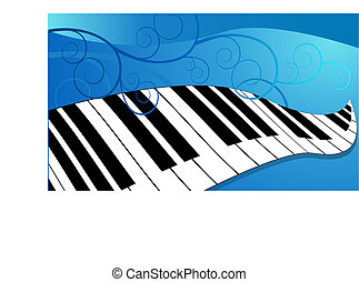 teclado del piano