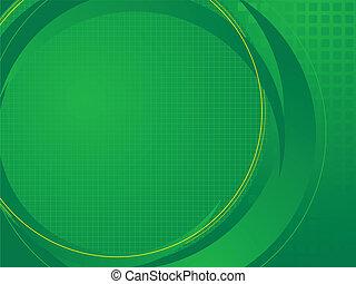 tecnico, base, verde