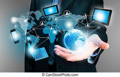 tecnología, concepto
