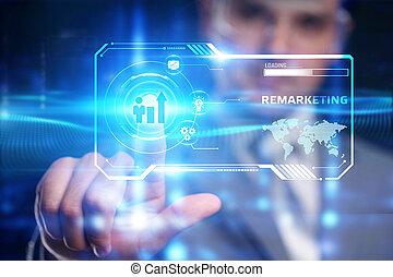 tecnología de internet, publicidad, remarketing,...