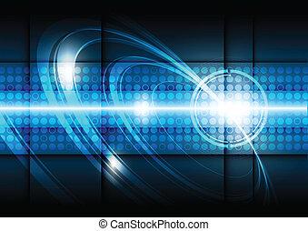 tecnología, plano de fondo, digital