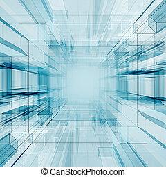 tecnología, túnel