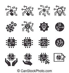 tecnologia, ícone