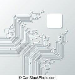 tecnologia, abstratos, fundos, textura