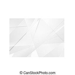 tecnologia, astratto, grigio, polygonal, fondo, corporativo