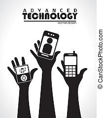 tecnologia, avançado