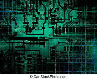 tecnologia, circuito