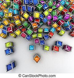 tecnologia, colorito