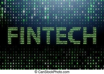 tecnologia, conceito, financeiro, fintech