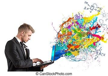 tecnologia, Criativo